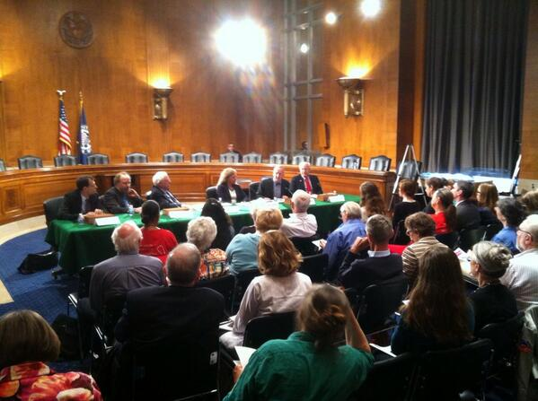 Senator Bernie Sanders' Single Payer Panel, May 21, 2014. photo