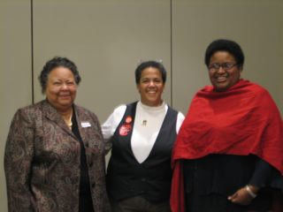 Dr. Joyce Howell, Dr. Claudia Fegan, and Dr. Monique Howard