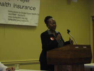 Bani Hines Hudson, Community Development Specialist, Louisville