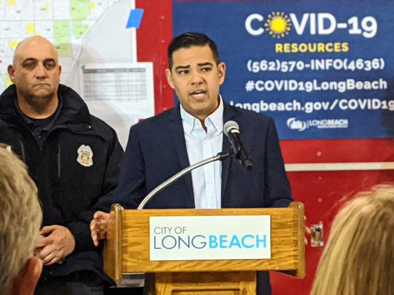 Mayor Robert Garcia of Long Beach